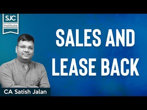 Sales And Lease Back | CA CS CMA | CA Satish Jalan
