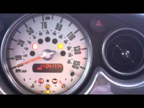 Reset Tyre Pressure MINI  TP Button