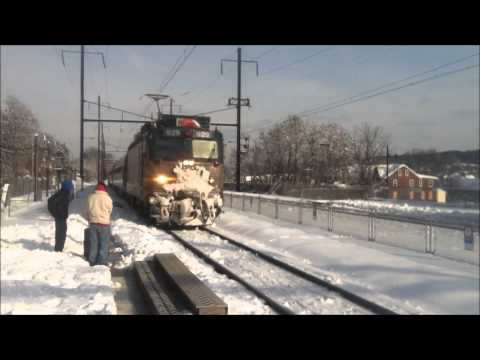 The Pennsylvanian trains 42,43 and a Keystone Part 4