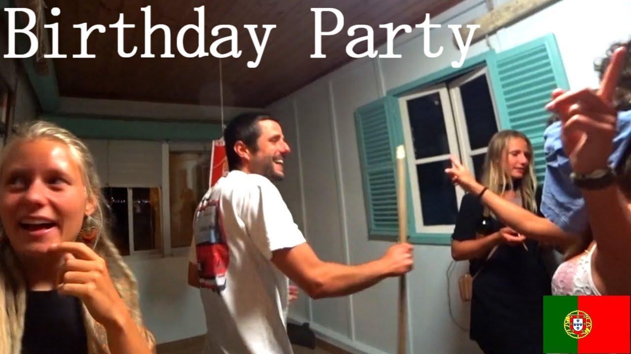 ノリやばい!バースデーの祝い方、さすがヨーロッパという感じだった。How to celebrate a typical Portuguese birthday