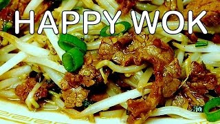 Stir Fry: Beef  With  Bean  Sprout : Authentic Chinese Cooking.