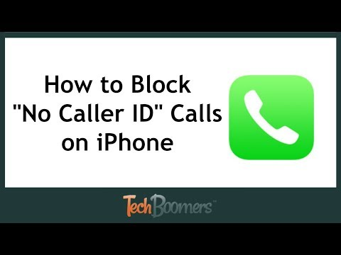 """How to Block """"No Caller ID"""" Calls on iPhone"""