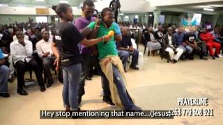 Angels seen live in church;Amazing Ministration of deliverance with Angels