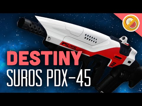 DESTINY Suros PDX-45 Legendary Pulse Rifle Review (The Taken King)