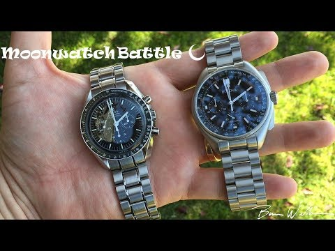 Bulova Moonwatch Vs Omega Moonwatch