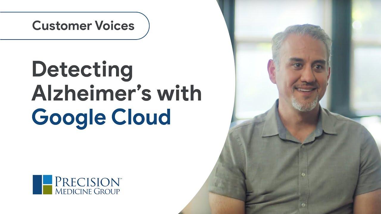 How Google Cloud and its BigQuery ML help detect Alzheimer's sooner