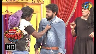 Hyper Aadi, Raising Raju Performance | Jabardasth | 25th January 2018   | ETV  Telugu