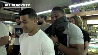 All Blacks hit the streets in Buenos Aires