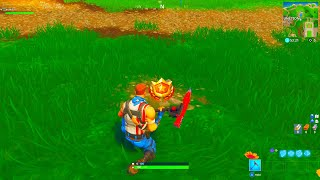 SEARCH BETWEEN MOVIE TITLES LOCATION! FORTNITE TREASURE MAP LOCATION FORTNITE BATTLE ROYALE