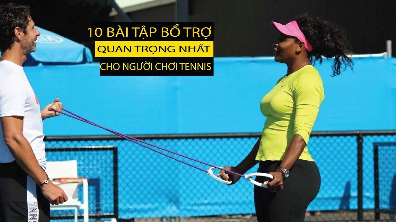 [VNTA Tennis] |Bài 8 – 10 Bài Tập Quan Trọng Nhất Cho Người Chơi Tennis Tại TP.HCM