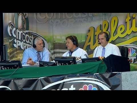 BAL@OAK: LaRussa discusses '89 Series, Hall of Fame