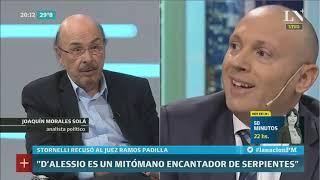 Joaquín Morales Solá: Atacan a Stornelli porque la declaración de Manzanares es demoledora para CFK