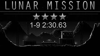 Lunar Mission Levels 1-9 (Scout) speedrun 2:30.63 [Android / Touchscreen]
