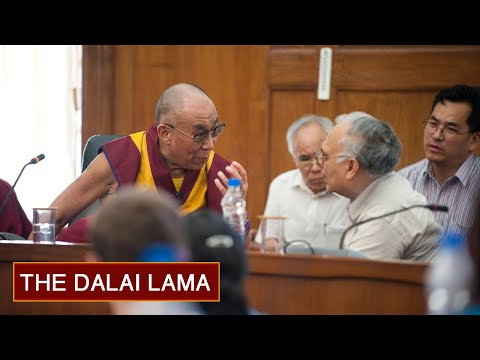 What Life is All About - Day 2am (Morning) - The Dalai Lama at Delhi University