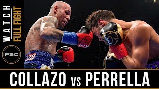 Collazo vs Perrella Full Fight: August 4, 2018 - PBC on FS2