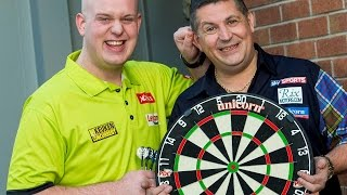 Mighty Mike Van Gerwen and Gary Anderson Fantasy Five-a-Side