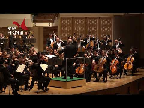 Jaap van Zweden conducts Bernstein Candide Overture with the HK Phil!