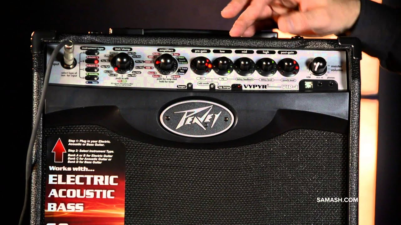peavey vypyr vip 1 20w guitar modeling combo amp youtube. Black Bedroom Furniture Sets. Home Design Ideas