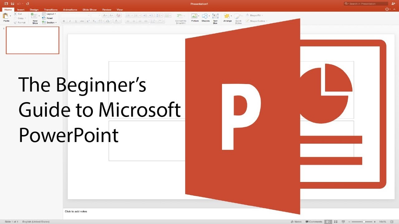 beginner s guide to powerpoint 2017 tutorial youtube