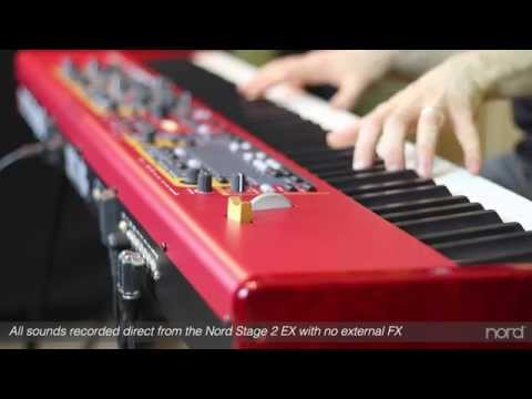 Nord Stage 2 EX OVERVIEW