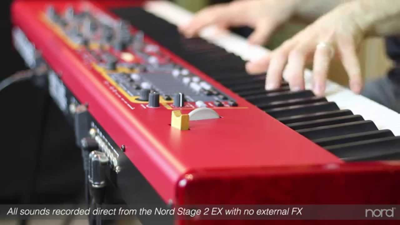 nord stage 2 ex overview youtube. Black Bedroom Furniture Sets. Home Design Ideas