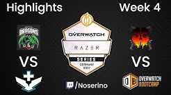 Razer Series Germany - Week 4 - Highlights