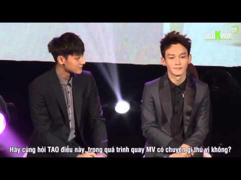 [Vietsub] 140922 Zhang LiYin Showcase CHENTAO Cut [EXO Team]