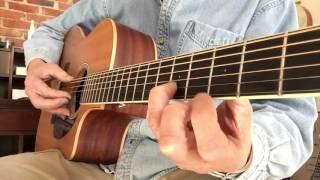 Buckets of Rain - dropped D arrangement- tutorial take 2