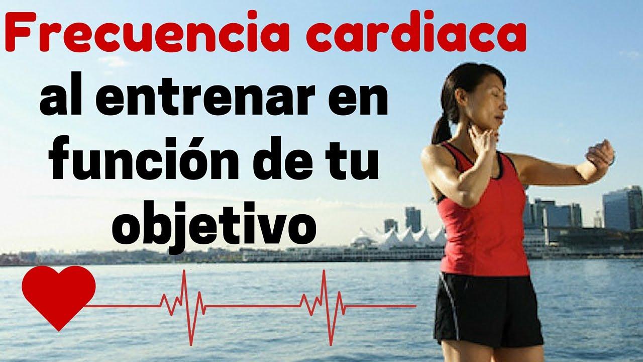 como calcular la frecuencia cardiaca para bajar de peso