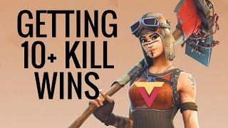 How to Get 10+ Elimination Wins in Fortnite BR