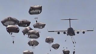 82nd Airborne Mass Airdrop