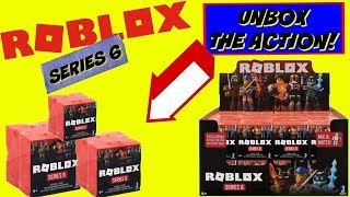 Unboxing Huge Lot Of New Roblox Series 6 Orange Blind/Mystery Boxes
