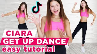 One of the most popular tik tok dances. get up dance (ciara). step by tutorial ❤️please subscribe: ►https://tinyurl.com/subscribetodanig g...
