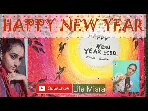 Happy New Year🐣    Drawing Video    Lila Misra