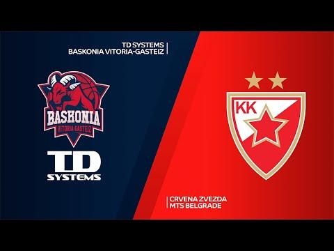 TD Systems Baskonia Vitoria-Gasteiz-Crvena Zvezda mts Belgrade Highlights | EuroLeague, RS Round 26