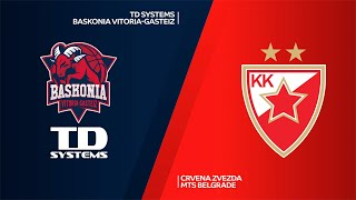 TD Systems Baskonia Vitoria-Gasteiz-Crvena Zvezda mts Belgrade Highlights | EuroLeague, RS Round 26