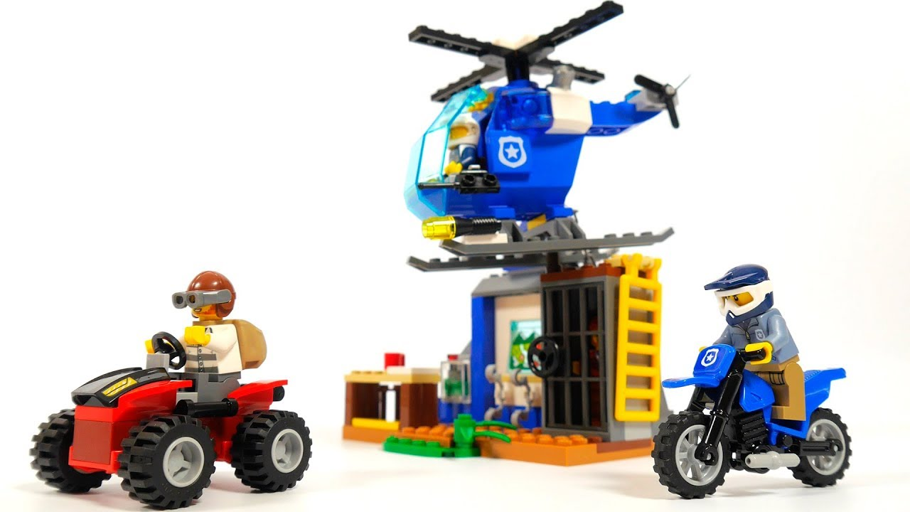 Lego City 60170 Off-Road Chase & Lego Juniors 10751 Mountain Police Chase