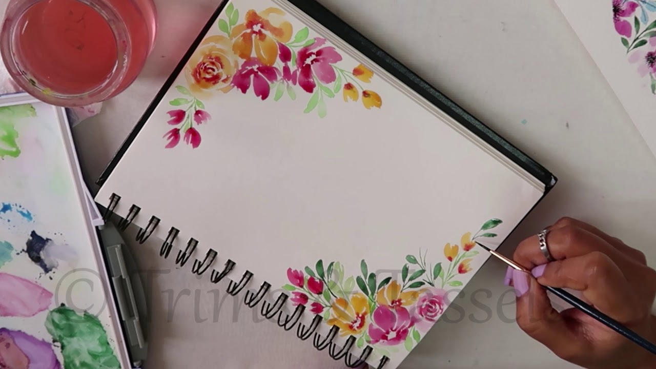 Border Painting Design Art Craft Ideas Easy Tips For