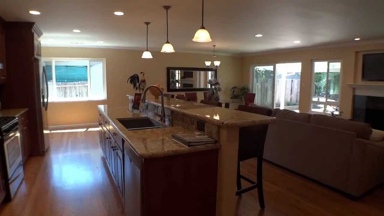 ranch style house remodel before and after home redesign Awesome Renovated Ranch House - YouTube