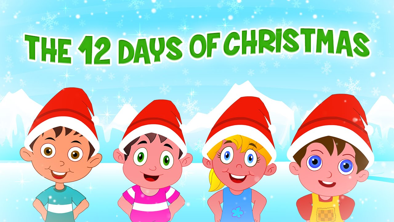 small resolution of  twelve days of christmas famous christmas songs for kids christmas carols for children youtube