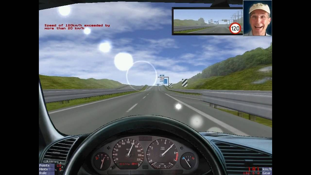 3d driving simulator youtube for Simulatore 3d