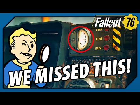 FALLOUT 76 - HOW did we MISS THIS!? Look...