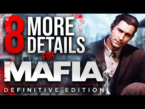 8 More Details For The Mafia 1 Remake