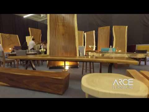 ARCE Furniture, Expo Mueble Internacional 2017, Parota, Rosa Morada