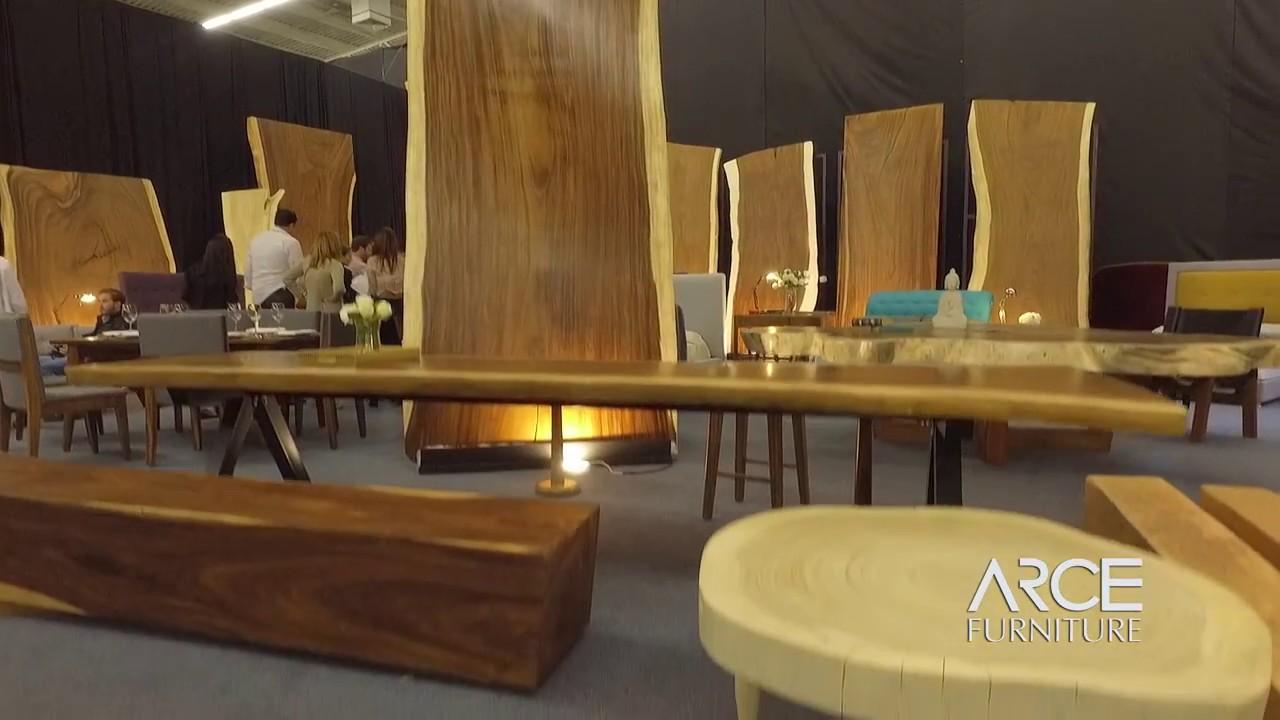 ARCE Furniture, Expo Mueble Internacional 2017, Parota, Rosa Morada ...