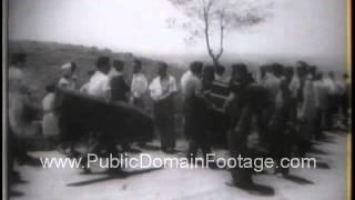 Lebanon Crisis 1958 - newsreel archival footage