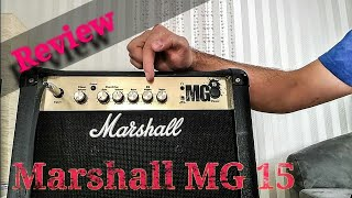 Marshall MG 15 Combo Amp Review