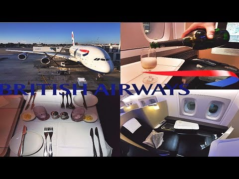 British Airways First Class Flight Experience A380