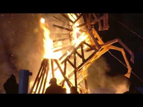 World Fire Sculpture Championship Riga 2014 FINAL ( full length )