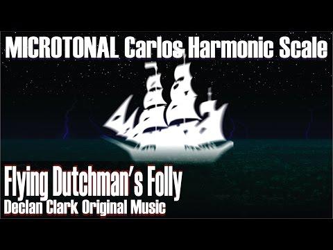 Flying Dutchman's Folly (microtonal Carlos Harmonic scale) - original music